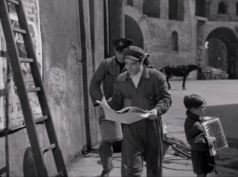La roma di vittorio de sica ladri di biciclette 1948 - Via di porta pinciana 34 roma ...